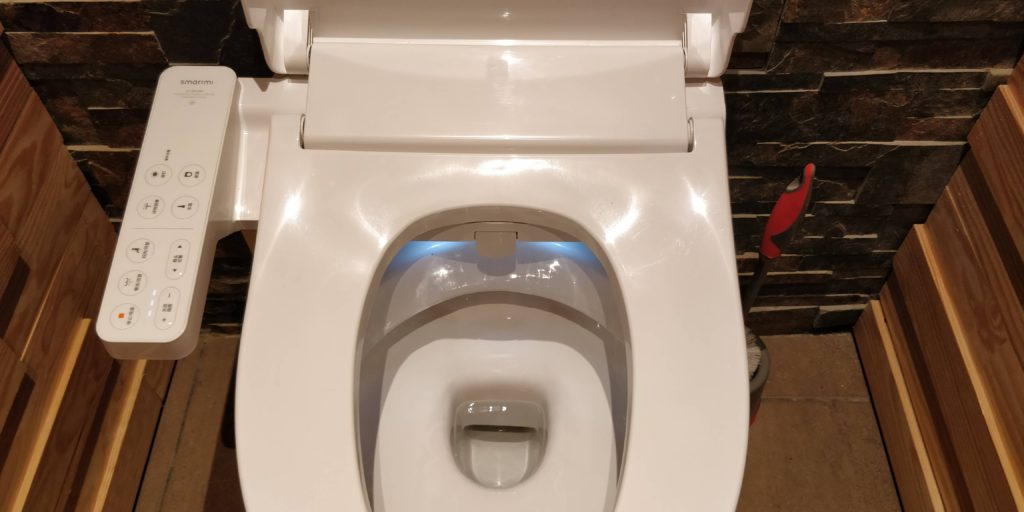 Toilettes connectés
