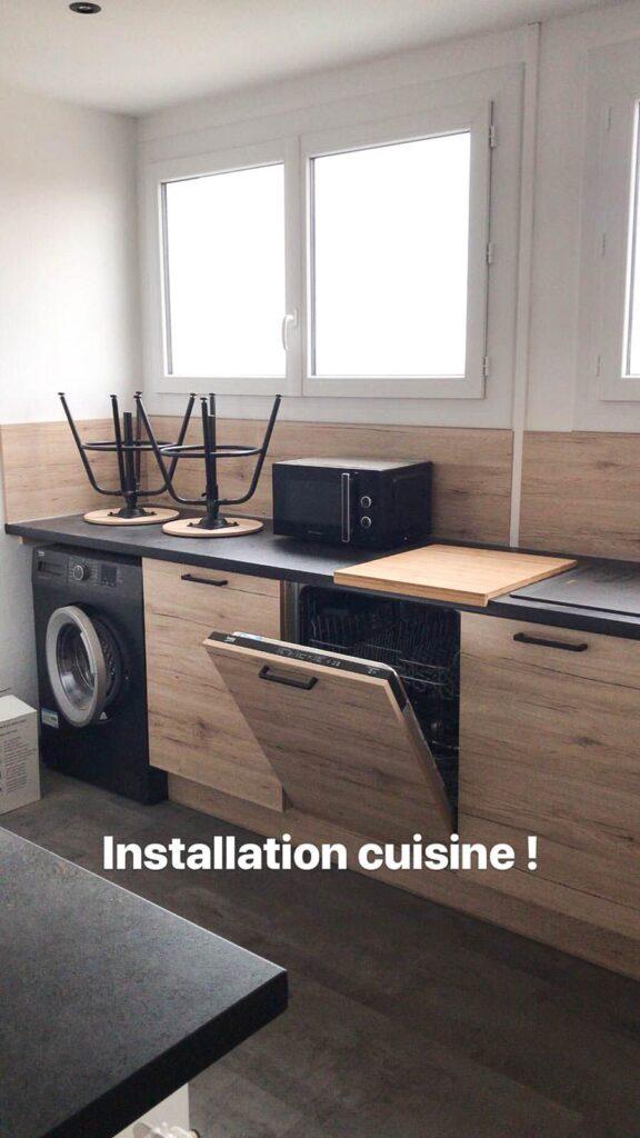 installation de cuisine sur paris